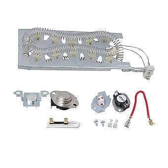 3387747 Heating Element & 279816 279973 Thermostat Kit Dryer Accessories