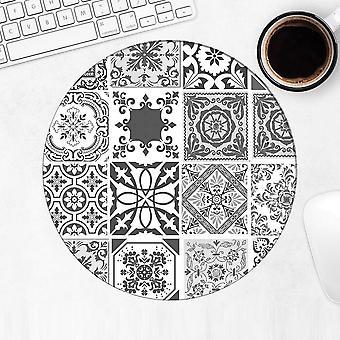 هدية Mousepad: بلاط الفسيفساء الترقيع الأسود