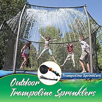 Sommar Trampolin Sprinkler Vatten Sprinkler Utomhus Trädgårdsvatten Spel Leksaksspruta Bakgård Vattenpark Tillbehör Kul för barn
