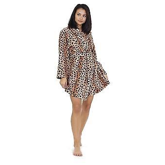 Brave Soul Womens / Ladies Leopard Print Kamerjas