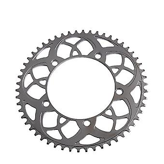 54 Tooth silver aluminum alloy replacement bike chainring stronglight 130bcd 56t 54t for folding bike, mountain bike az17779