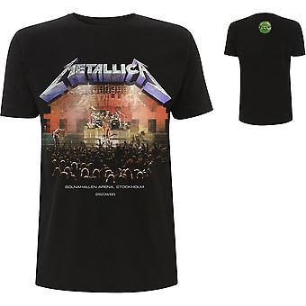 Metallica - Stockholm '86. X-Large T-skjorte for menn - Svart