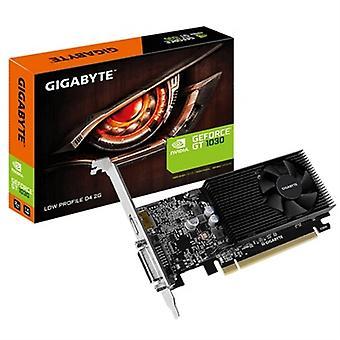 Näytönohjain Gigatavu GV-N1030D4-2GL NVIDIA GT 1030 2 Gt DDR4