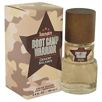 Kanon boot camp warrior desert soldier eau de toilette spray by kanon 539011 100 ml