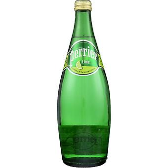 Perrier Water Sprkl Lime, Case of 12 X 25 Oz