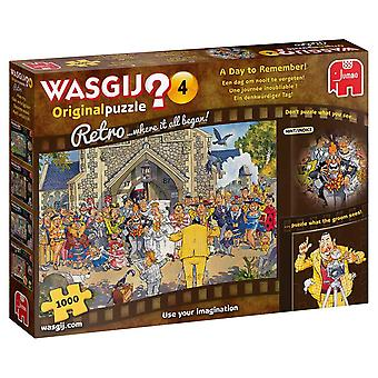 Wasgij Retro Original 4: A Day to Remember!  Jigsaw Puzzle (1000 pieces)