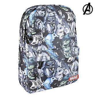 School Bag Marvel Black