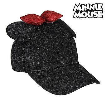 Sombrero Béisbol Minnie Mouse 75338 Negro (56 cm)