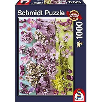 Schmidt Violet Flowers Jigsaw Puzzle - 1000pc