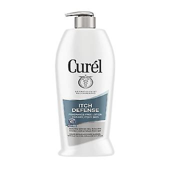 Curel itch defense calming body lotion for dry, itchy skin, 20 oz