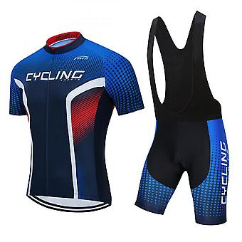 Cycling Men's Cycling Bib Shorts Men's Cycling Suits Classic Cycling Jersey Race Fit With 3d Gel Padded