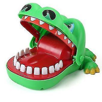 Krokodille tann bite finger barn's leketøy foreldre-barn bordspill