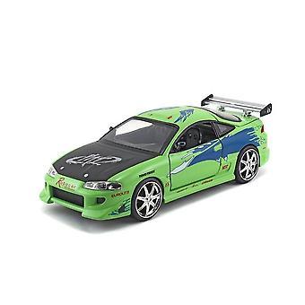 Mitsubishi Eclipse Brians bil Diecast Modell Bil från Fast And Furious