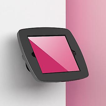 """Tablet-tietokoneen telakot seisovat wallmount-tabletin turvakotelossa 24,6 Cm 9,7"""" musta"""