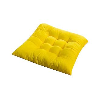 Chaises square chair soft pad seat cushion for home office indoor outdoor garden yellow