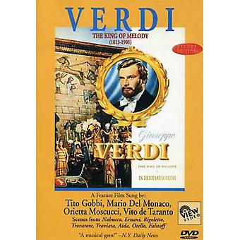 Verdi: King of Melody [DVD] USA import
