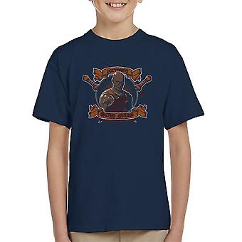 Doctores Sacred Ground Fighting Academy Spartacus Kid's T-Shirt