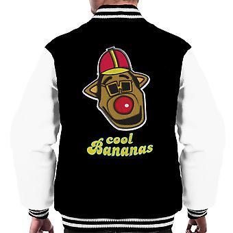Coola bananer Drooper Banana Split mäns Varsity jacka