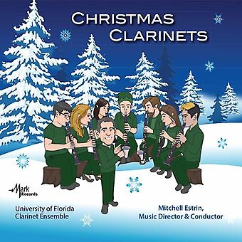 Anderson / Bach, J. / University of Florida - Christmas Clarinets [CD] USA import