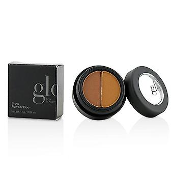 Glo huden skjønnhet Brow pulver Duo - # Auburn - 1.1g/0.04oz