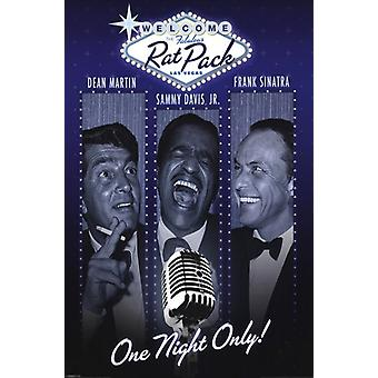 Rat Pack - One Night Only Poster Poster Print
