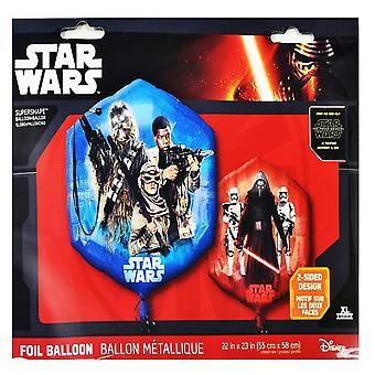 Anagram Star Wars Episode VII Supershape Balloon
