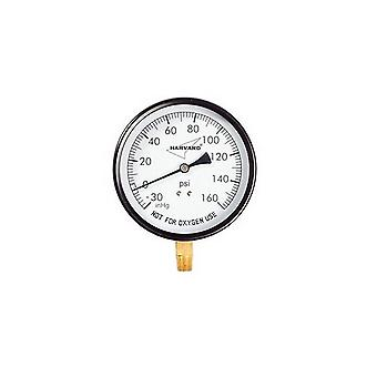 American Granby IPCG31045-4L 0.25 in. Pressure Gauge Mpt Lower