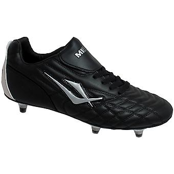 Mirak Mens Forward Screw-In Studded Football Rugby Sports Boot Black