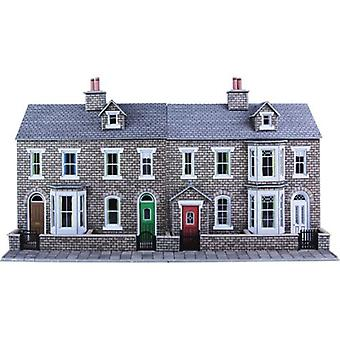 Metcalfe Po275 Oo Gauge Stone Terraced House fronter