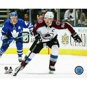 Gabriel Landeskog 2017-18 Action Photo Print
