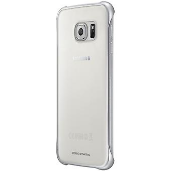Samsung EF-QG920BSEGWW clear cover Clip-On for Galaxy S6 silver