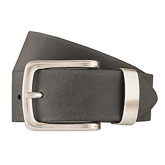BERND GÖTZ belts men's belts leather belt grey 6381