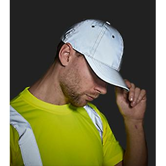 Portwest Mens Highly Reflective Baseball Cap