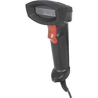 Manhattan 178433 USB-Kit Barcode scanner Corded 1D CCD preto USB portáteis