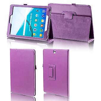 For Samsung Galaxy tab A-10.5 T590 T595 purple faux leather case cover pouch case new