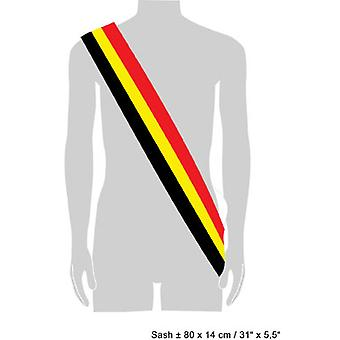 Supporters articles and musical instruments  Honorary sash Belgium