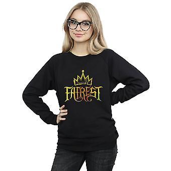 Disney Women's The Descendants Fairest Gold Sweatshirt