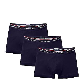Tommy Hilfiger Premium Essential Stretch Trunk 3 Pack - Peacoat Navy