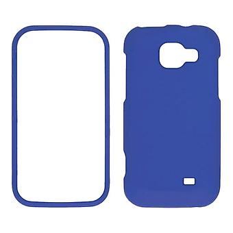 Sprint Two piece Soft Touch Snap-On Case for Samsung Transform M920 - Blue