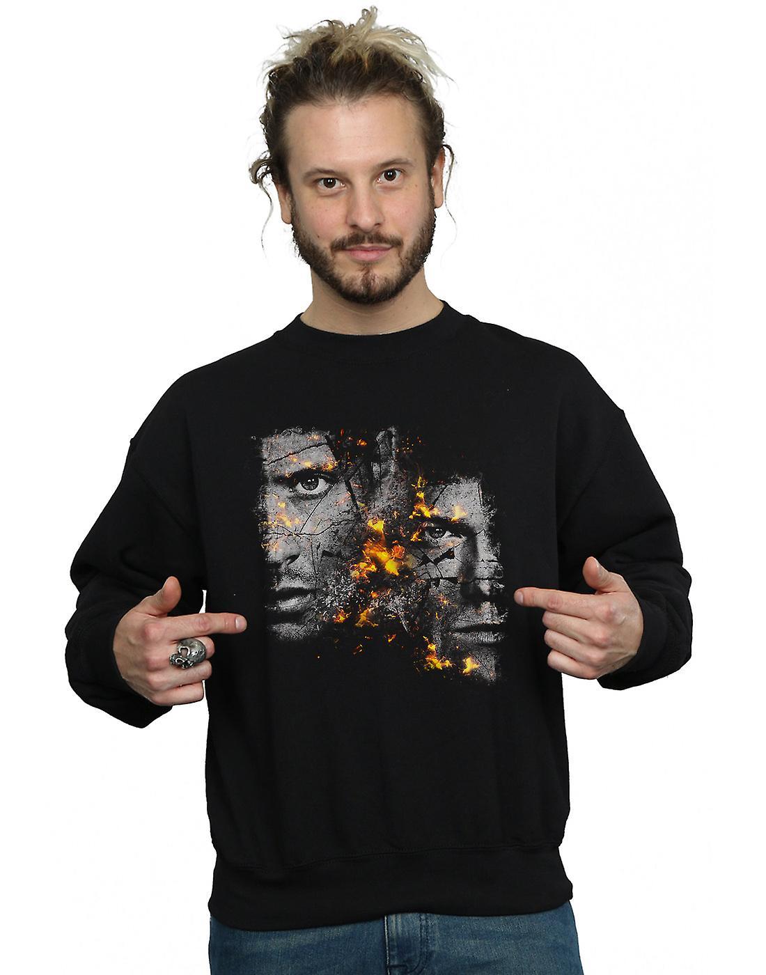 Supernatural Men's Sam And Dean Fire Sweatshirt