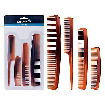 Hair Combs 4-pack