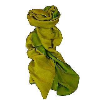 Vietnamesische Cham-Pa Reversible lange Seidenschal Smaragd von Pashmina & Seide