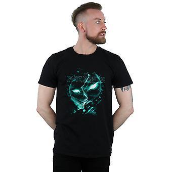 Gestörte Männer zwischen dem Links-T-Shirt