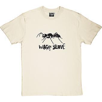 Wage Slave Natural Men's T-Shirt