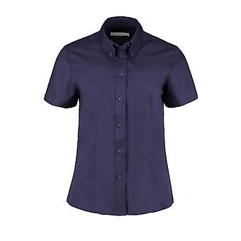 Kustom Kit Womens/Ladies Corporate Oxford Short Sleeved Blouse