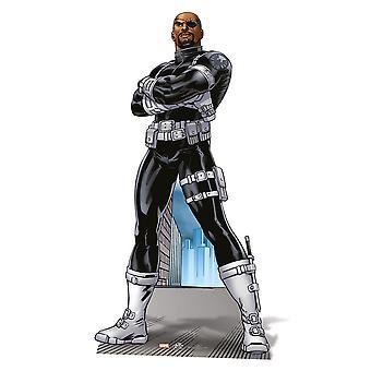 Nick Fury Lifesize papelão recorte / cartaz / stand-up - Marvel os Vingadores Super herói