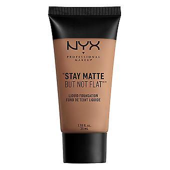 NYX PROF. MAKEUP Stay Matte ei tasainen nestemäinen meikki voide-kastanja