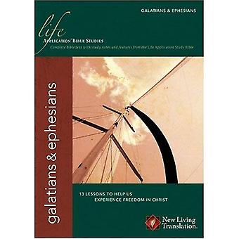 Gálatas/Efesios (estudios de la Biblia de la aplicación de la vida)