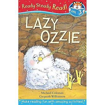 Ozzie paresseux (prêt lecture régulière)