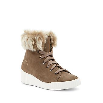 Bettye Muller Womens Rachel Faux Fur Closed Toe Mid-Calf Cold Weather Boots